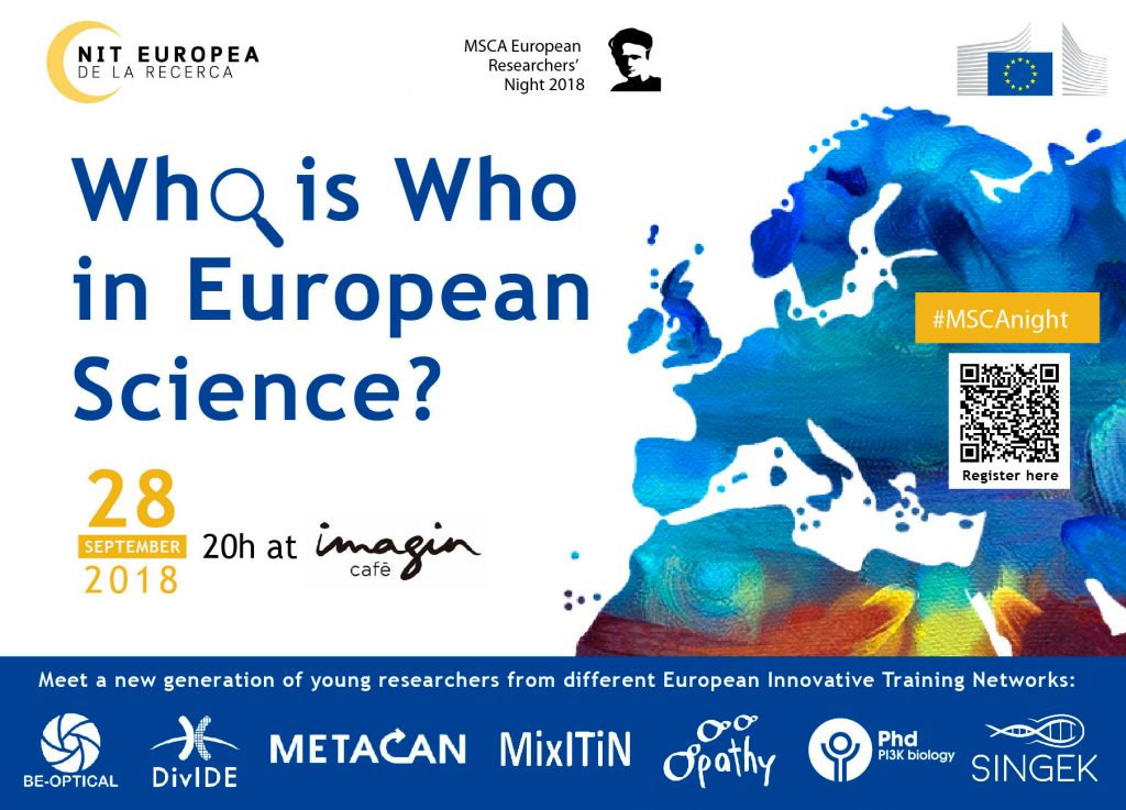 European Researcher's Night 2018 – Who is Who – META-CAN